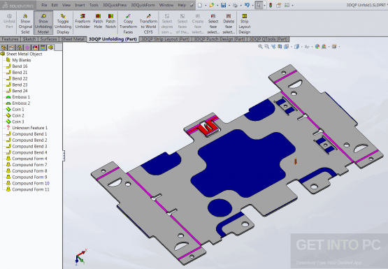 3DQuickPress 6.2.5 for SolidWorks Latest Version Download