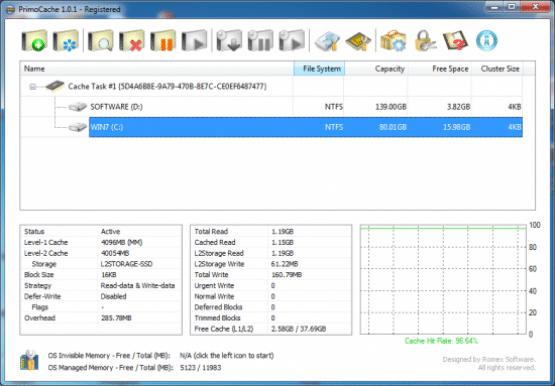 PrimoCache Desktop Edition 3.0.2 Latest Version Download