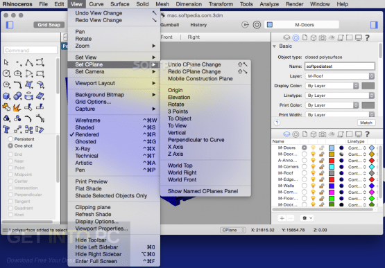 Rhinoceros 5.14 SR14 Offline Installer Download