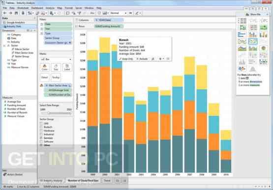 Tableau Desktop Professional 10.5.2 Direct Link Download