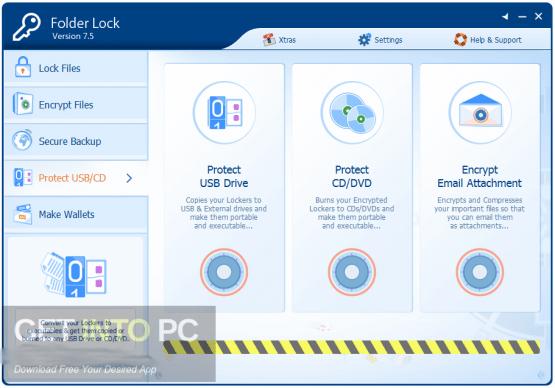 Folder Lock 7.7 Offline Installer Download