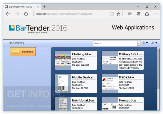 BarTender Enterprise Automation 2016 Offline Installer Download