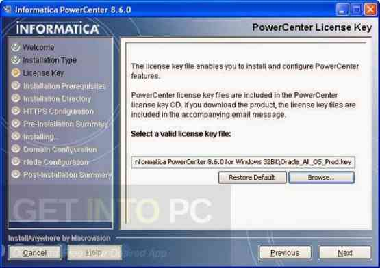 Informatica PowerCenter 8.6.0 Direct Link Download