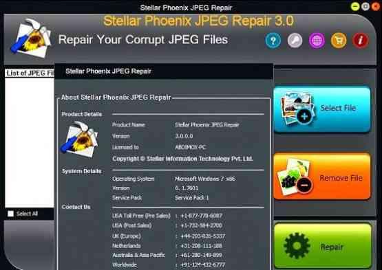 Stellar Phoenix JPEG Repair Offline Installer Download
