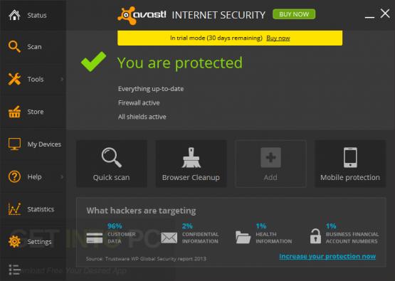Avast! Internet Security Premier Antivirus 17.5.23.02 Direct Link Download