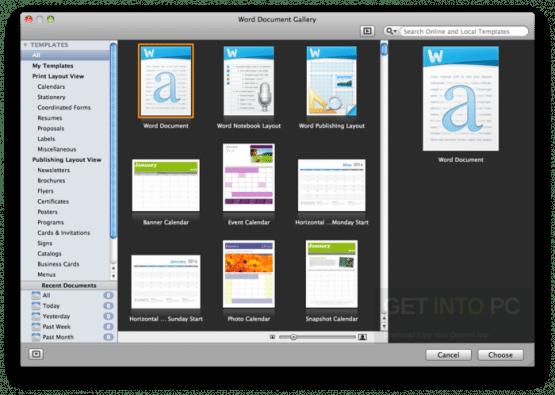 Microsoft Office 2011 for Mac OS Offline Installer Download