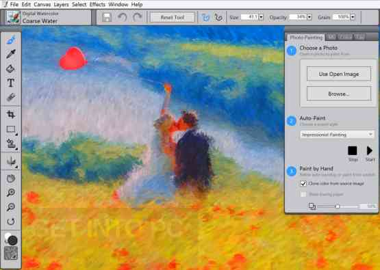 Corel Painter Essentials 5 for Mac OS X Latest Version Download