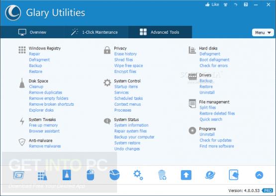 Glary Utilities Pro 5.98.0.120 + Portable Latest Version Download
