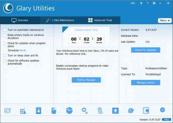 Glary Utilities PRO v5.84.0.105 Latest Version Download