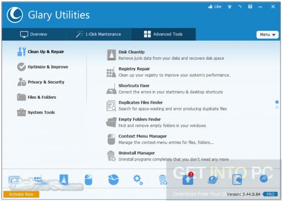 Glary Utilities Pro 5.68.0.89 Offline Installer Download