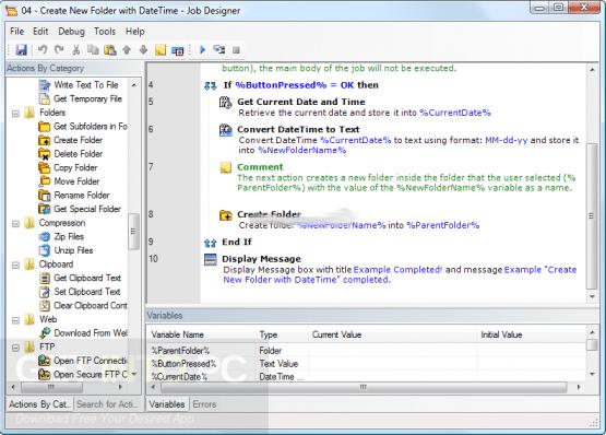 WinAutomation Professional Plus 7.0.1.4549 Offline Installer Download
