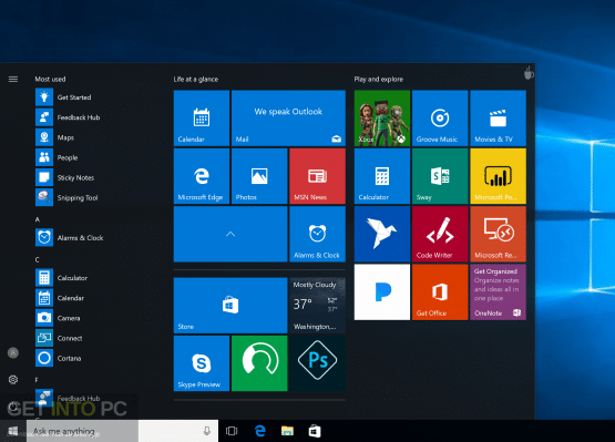 Windows 10 Enterprise Creators Update x64 ISO Download – Borntohell