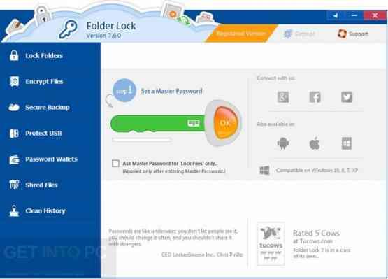 Folder Lock v7.6.9 Direct Link Download