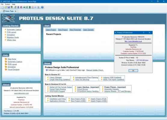 Proteus Professional 8.7 SP3 Direct Link Download