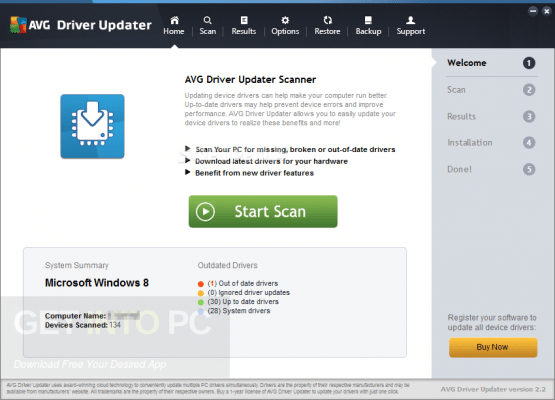 AVG Driver Updater Offline Installer Download