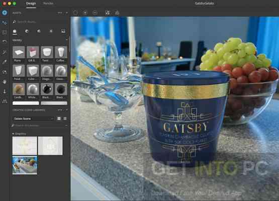 Adobe Dimension CC 2018 Offline Installer Download