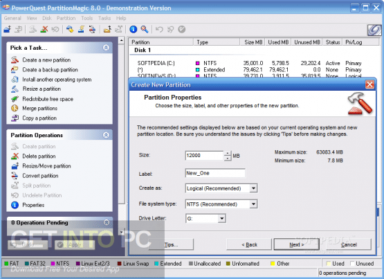 Partition Magic 8 Plus Offline Installer Download