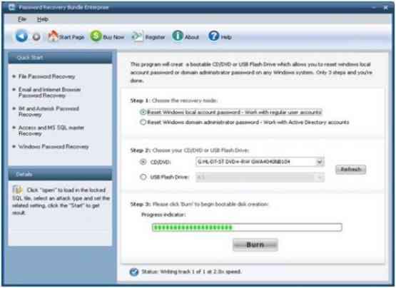 Password Recovery Bundle 2018 Enterprise Offline Installer Download
