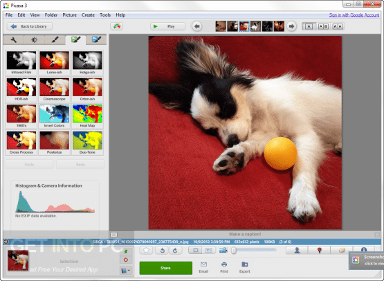 Picasa Offline Installer Download