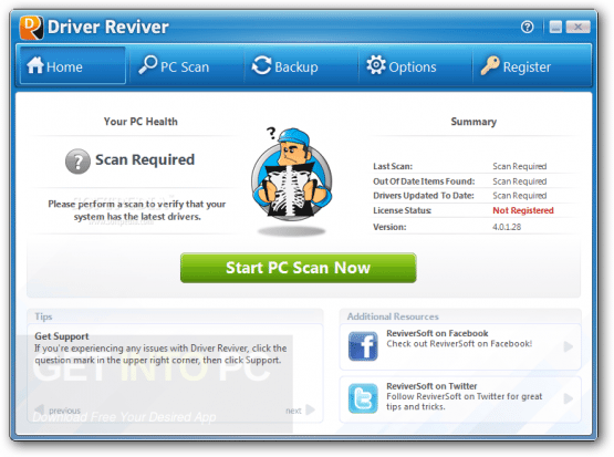 ReviverSoft Driver Reviver 5.25.6.2 Direct Link Download
