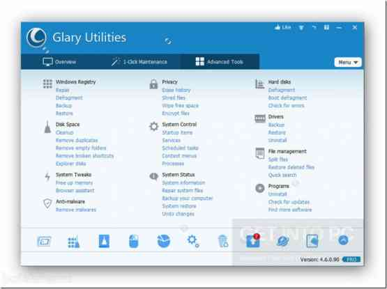 Glary Utilities Pro 5.90.0.111 + Portable Latest Version Download