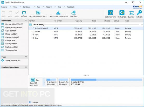 EASEUS Partition Master 12.5 Technician Latest Version Download