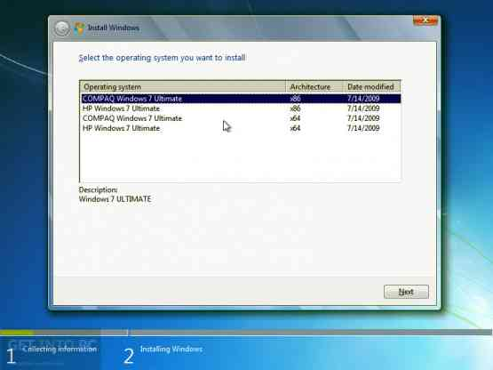 HP Compaq Windows 7 Ultimate x64 OEM ISO Direct Link Download