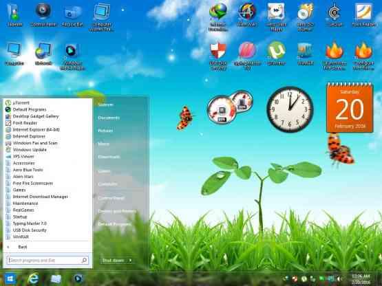 Windows 7 Aero Blue Lite Edition 2016 Offline Installer Download