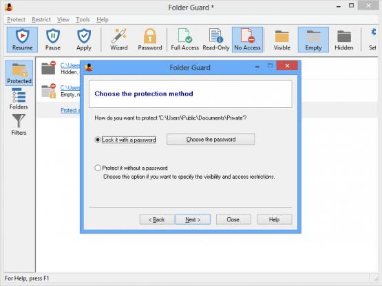 Folder Guard 18.5.1 Offline Installer Download