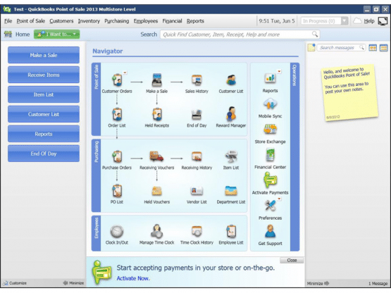 Quickbooks POS v11 2013 Multistore Direct Link Download