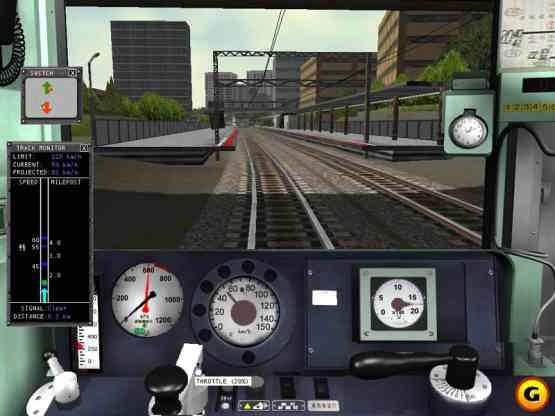 Microsoft Train Simulator Setup