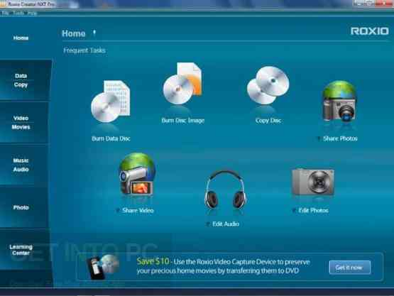 Roxio Creator NXT Pro 3 Latest Version Download