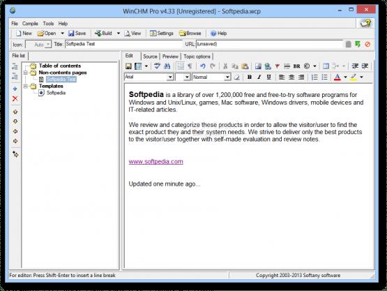 Softany WinCHM Pro 5.25 Offline Installer Download