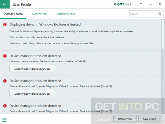 Kaspersky System Checker Portable Offline Installer Download