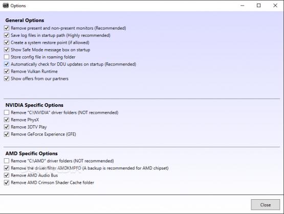 Display Driver Uninstaller 17.0.8.9 Offline Installer Download