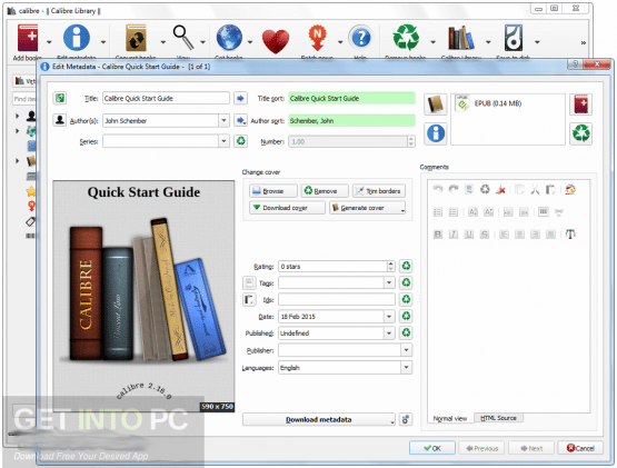 Calibre 3.13.0 Latest Version Download