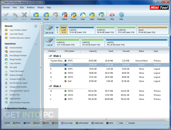 MiniTool Partition Wizard Bootable 10.2.3 Latest Version DOwnload