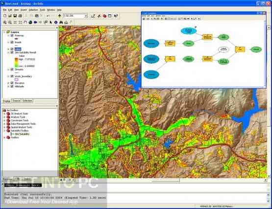ESRI ArcGIS Desktop 10.5.0.6491 + Addons Direct Link Download