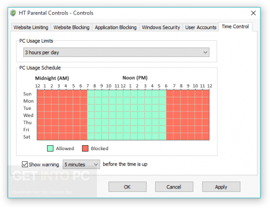 HT Parental Controls Offline Installer Download