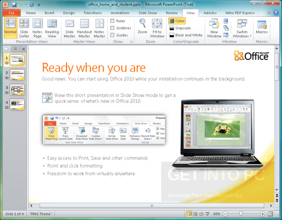Microsoft Office 2010 Home and Business Direct Link Download