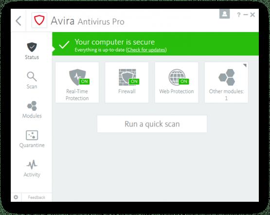 Avira Antivirus Pro 2017 Latest Version DOwnload