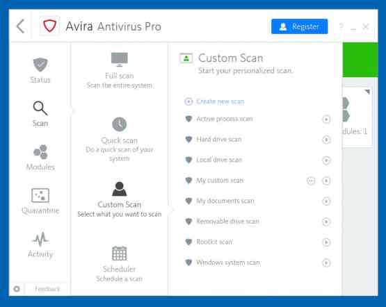 Avira Antivirus Pro 2018 Direct Link DOwnload