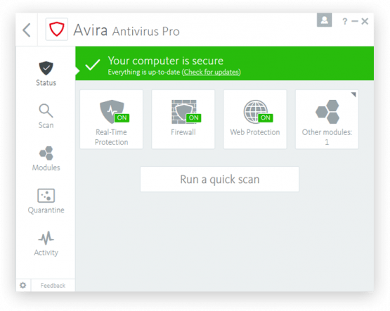 Avira Antivirus Pro 2018 Offline Installer Download