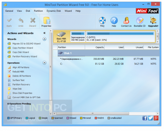 MiniTool Partition Wizard Pro Technician 10.2.2 Direct Link Download