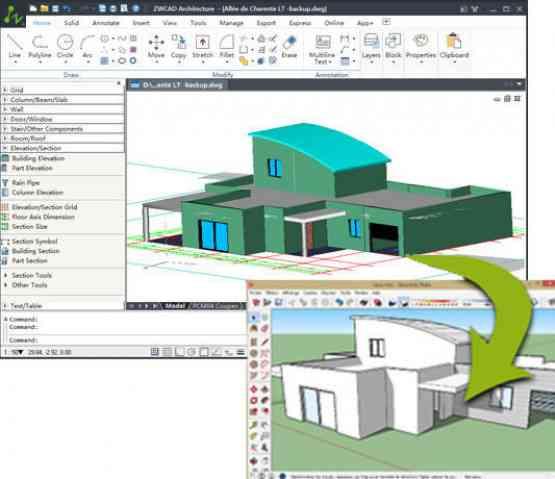 ZWCAD Architecture 2017 Offline Installer Download