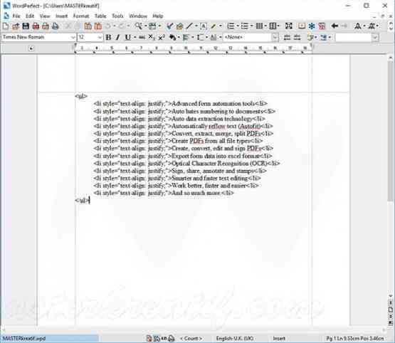 Corel WordPerfect Office X9 Offline Installer Download