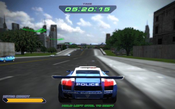 police super cars racimg free