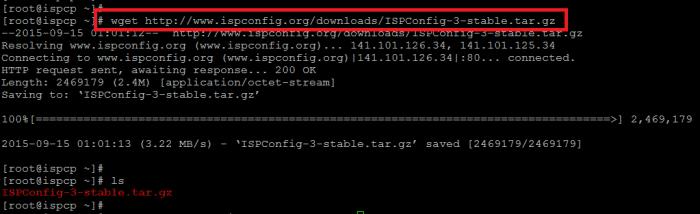 Download ISPConfig