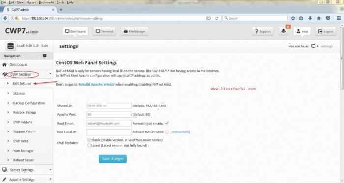 Configure-Shared-IP-CWP-Admin-Panel