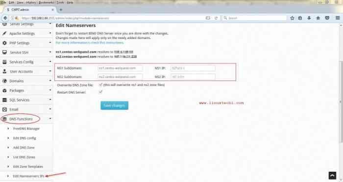 Edit-NameServers-IP-Address-CWP